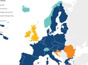 ¿Forman todos países zona Schengen parte Unión Europea?