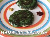 Hamburguesas pollo espinacas