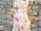 Maxi vestido flores