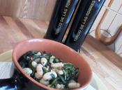 Sopa alubias achicoria Zuppa fagioli cicorie
