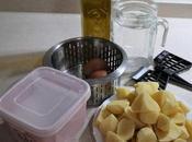 Puré patatas huevo Mambo