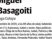 Último adios José Miguel Rica Basagoiti