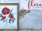 Pintando flores gouache