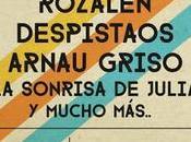 Concierto contra cáncer Riviera madrileña Rozalén, Despistaos, Arnau Griso Sonrisa Julia