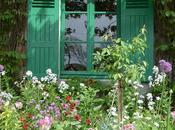 Primavera Giverny: jardines Monet maravillosa explosión flores colores