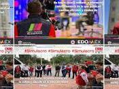 Participan millones mexiquenses alrededor inmuebles macro simulacro nacional