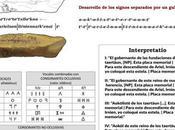 Interpretación estela tartésica Siruelas (Badajoz) TARTESSOS posible origen semítico (Acadio-Arameo) lengua estelas sudoeste.