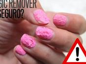peligroso magic remover esmalte permanente?