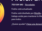 Firefox listo para descargar: tema oscuro, mejoras seguridad rendimiento