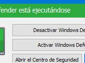Cómo deshabilitar Windows Defender pocos clics