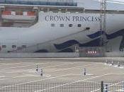impresionante Crucero Transatlántico Crown Princess llegó nuevo Getxo