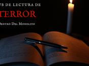 Convocatoria xvii club lectura terror