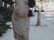 Slip leopard dress