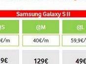 Samsung Galaxy SII, tarifas Vodafone Movistar