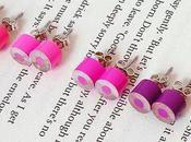 Hacer pendientes lápiaces colores