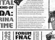 Legend Zelda Ocarina Time será representada FNAC Callao