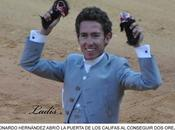 CORDOBA ULTIMA FERIA: LEONARDO HERNANDES SALE PUERTA GRANDE CALIFAS