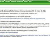 Nokia cierra tienda online España hunde Bolsa