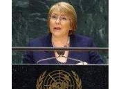 Michelle Bachelet: compromiso España igualdad género establece listón alto para mundo