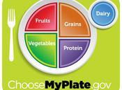 Plate: nueva guía alimenticia Estados Unidos
