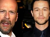 Bruce Willis Joseph Gordon-Levitt Loopers