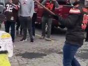 VIDEO: Fans Browns rompen piñata Mason Rudolph