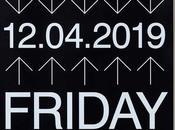 Tinta White sobre negro para festival VLANC