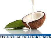 Artricenter: ¿Sabes beneficios tiene tomar leche coco?