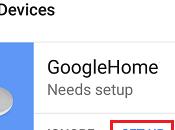 Cómo configurar dispositivo Google Home
