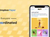 Cree espacio trabajo inteligente aplicación Dropbox Paper