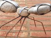 Hormiga piedra para jardin