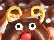 Donuts renos navideños
