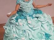 Tarta Muñeca Barbie