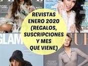 Revistas Enero 2020 (Regalos, Suscripciones viene)