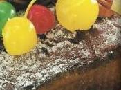 Cake frutas navideño