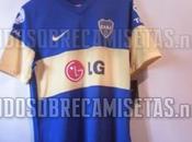 Ésta sería nueva camiseta Boca Juniors; temporada 2011-2012