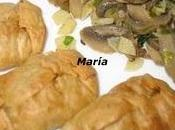 Paquetitos verduras champiñones ajillo