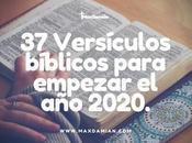 Versículos bíblicos para empezar 2020