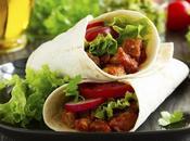 famosos burritos plato típico mexicano elabora...