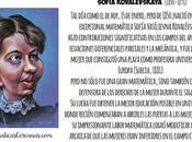 enero, pero 1850, nació extraordinaria matemática Sofía Kovalévskaya