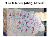 Nueva evidencia epigráfica posible escritura lineal prehistórica tipo ELA. 'Los Milanes' (Abla), Almería.