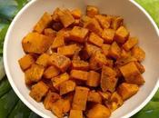Patates douces rôties roasted sweet potatoes batatas horno /بطاطا حلوة مشوية الفرن