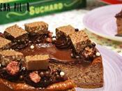 Cheesecake turrón Suchard