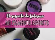 rescate Febrero: pigmento favorito