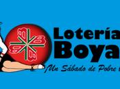 Lotería Boyacá sábado febrero 2020