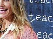 "Cameron Diaz promociona ""Bad Teacher"""