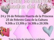 Campaña cojines solidarios universidad popular: donación almohadas corazón