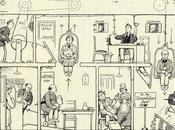 William Heath Robinson ilustrador aparatos complicados para hacer cosas simples.