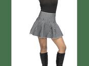 Falda Cuadros Negra Blanca