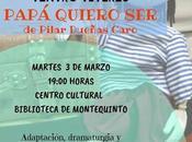 """Títeres Igualdad: """"Papá quiero ser"""" Cía. Atelana Teatro"""
